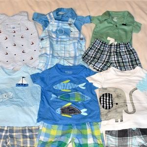 Boys 3-6 Month Spring/Summer outfits!